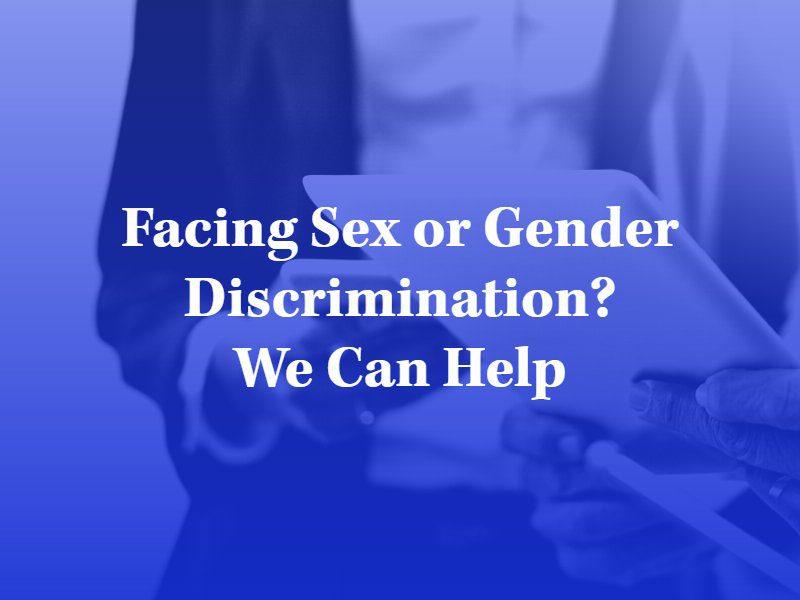 los angeles sex discrimination lawyer